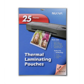 Nuova 25-Sheet, 5 Mil Thermal Laminating Pouches 5 x 7-Inches, Photo Size