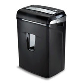 Aurora JamFree AU1045XA 10-Sheet Cross-Cut Paper / Credit Card Shredder with Pull-Out Wastebasket