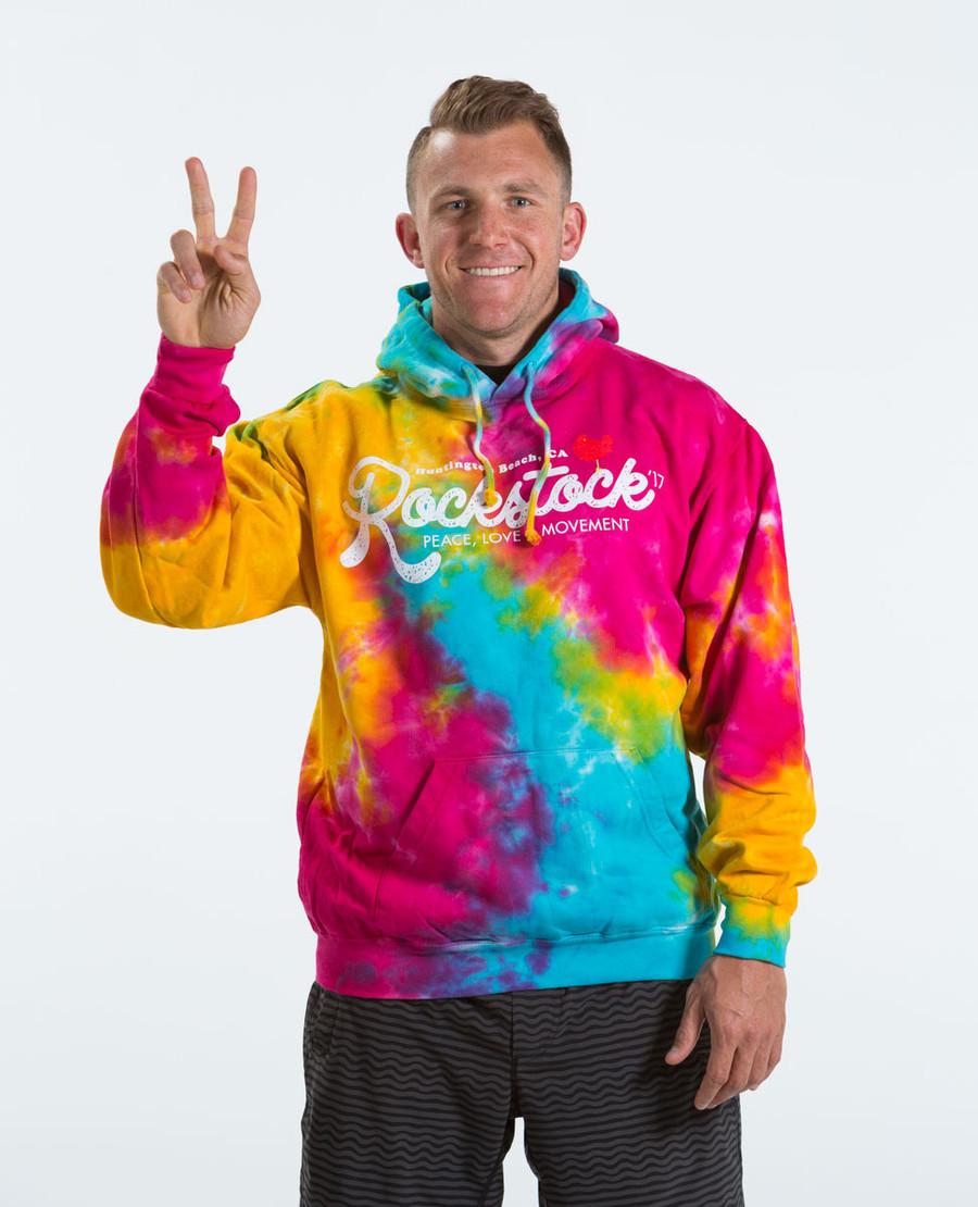 Rockstock Tie-Dye Hoodie *