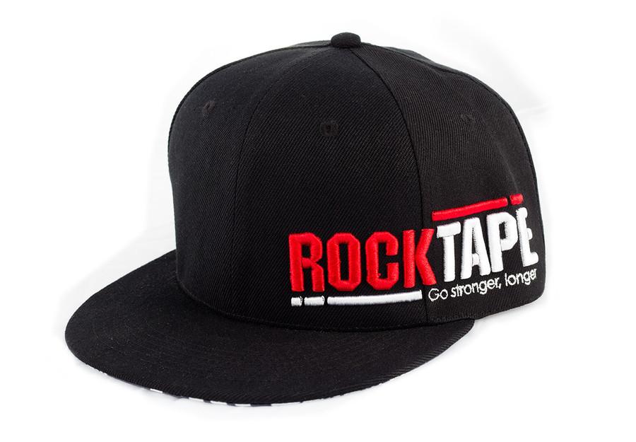 """Black """"Supreme"""" Snap-Back Hat"""