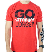 Men's Go Stronger, Longer Tee