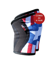 KneeCaps - US Flag Limited Edition - Knee Support and Protection