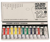 Holbein Artist Gouache Set of 12, 15ml