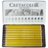Cretacolor Graphite Pencil Tin Set of 12