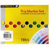 LetraJet Tria Pantone Marker, 12 Brights Set