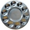 Art Alternative 10 Well Round Aluminum Tray
