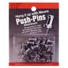 """Moore 5/8"""" Aluminum Push Pins"""