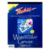 Fredrix Watercolor Canvas Pad, 09 x 12""