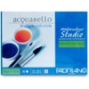 "Fabriano Watercolor Studio Pad, 9.5 x 12"" CP"