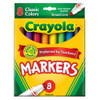 Crayola Broad Markers Classic, Set of 8
