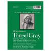 "Strathmore 400 Toned Grey, 18 x 24"""