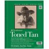 "Strathmore 400 Toned Tan, 18 x 24"""