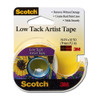 "3M Low Tack Artist Tape 3/4"""