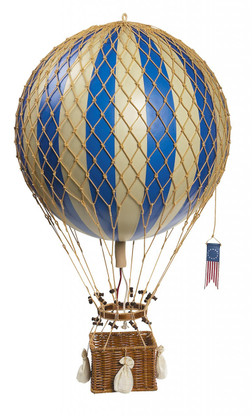 Authentic Models Royal Aero Hot-Air Balloon in Blue