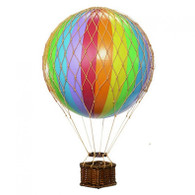 Floating the Skies Hot-Air Balloon Rainbow