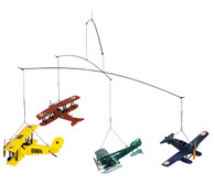 Authentic Models Flight 1920 Airplane Mobile