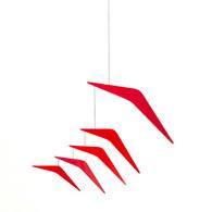 Ekko Workshop Vectored Array Mobile in Red