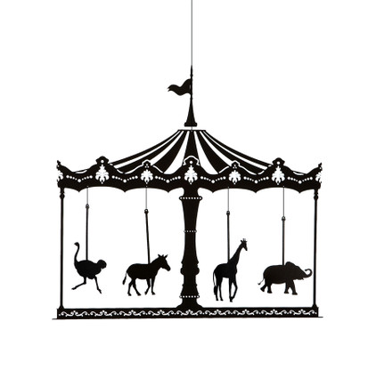 Ige merry go round mobile for Merry go round horse template