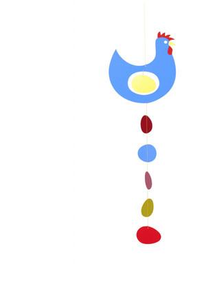 Flensted Prize Hen Blue Mobile