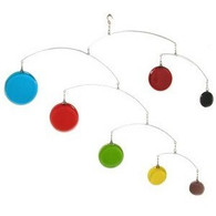 Circles Mobile in Primary Colors