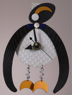 Arctic Penguin Clock