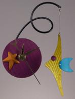 Fish Fly Clock