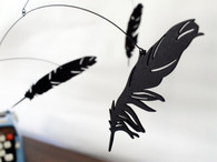 Salty & Sweet Falling Feather Mobile