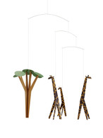 Flensted Giraffes on the Savannah Mobile