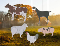 Skyflight Barnyard Animals Mobile