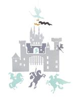 Djeco Castle and Dragons Mini Mobile
