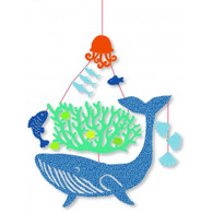Djeco Whale Under Water Mini Mobile