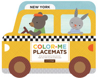 Petit Collage New York Color-Me Placemats