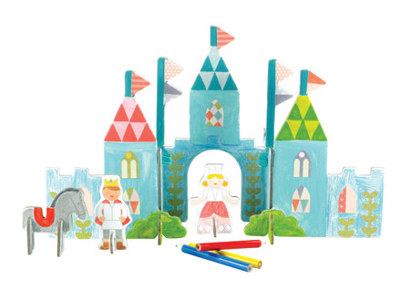 Petit Collage Pop-out and Color Royal Castle
