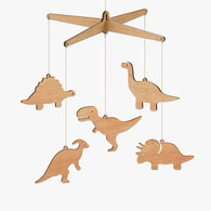 Byrne Woodware Dinosaur Baby Mobile