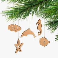 Byrne Woodware Australian Animals Christmas Ornaments