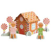 Petit Collage Pop-and Play Winter Wonderland
