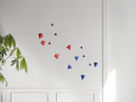 Small Good Things Red & Blue Polygon Mobile