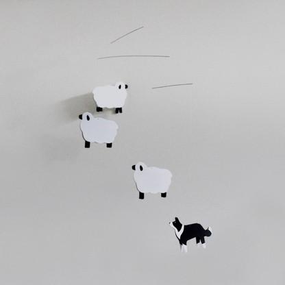 Joosepino Sheep and Border Collie Mobile