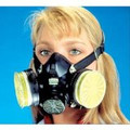 MSA Comfo Classic Respirator, Black, Large #808073