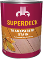 SUPERDECK  Transparent Wood Stain  1 Quart
