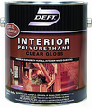 DEFT Interior Polyurethane Clear GLOSS /  Quart