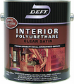 DEFT Interior Polyurethane Clear SATIN /  Quart