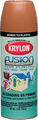 KRYLON 2438 12OZ SATIN KHAKI FUSION SPRAY **CASE OF 6**