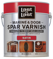 ABSOLUTE 94104 Quart SATIN LAST N LAST MARINE & DOOR SPAR VARNISH 275 VOC