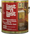ABSOLUTE 50104 1 Quart SATIN LAST N LAST POLYURETHANE WOOD FINISH