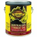 CABOT 3459 1G MAHOGANY FLAME AUSTRALIAN TIMBER OIL WOOD FINISH
