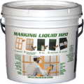 Associated Paint 80-400-1 1G Clear Masking Liquid H2O