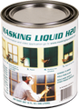 Associated Paint 80-400-4 QT Clear Masking Liquid H2O