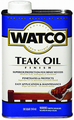 WATCO A67141 Quart Teak Oil Finish