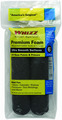 "Whizz 6"" black foam roller 2pk"
